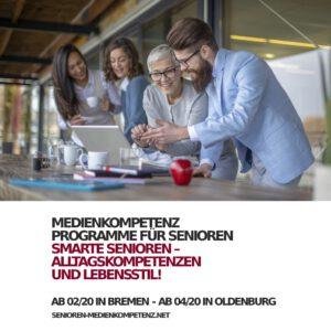 Medienkompetenz Smarte Senioren Programm